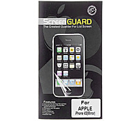 Professional Mirror LCD Screen Guard with Cleaning Cloth for iPhone 4/4S