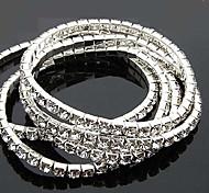 Bracelets de Rhinestone de style doux