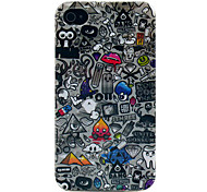 Multiple Elements TPU Imd Soft Case for iPhone 4/4S