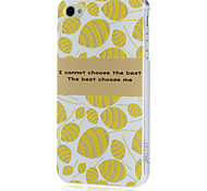 Delicate Carved Pattern Cover PC Hard Case for iPhone 4/4S(Color Randoms)