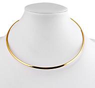 Farbenfrohe Halskette (Gold, Silber; 1 Stk.)