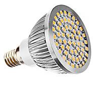 Lâmpada de Foco E14 3 W 240 LM 3500K K Branco Quente 60 SMD 3528 AC 110-130/AC 220-240 V PAR