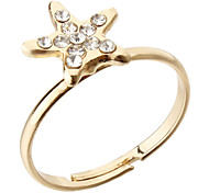 Korea Style Star Adjustable Ring