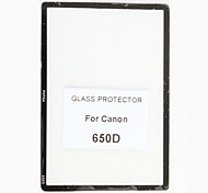 Fotga Premium LCD Screen Panel Protector Glass for Canon EOS 650D