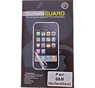 Diamond Pattern Film Anti-Glare LCD Screen Guard Protector for Samsung Galaxy Discover International Edition