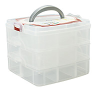 Makeup Storage Cosmetic Box / Makeup Storage Solid 16.3 x 15.0 x 13.0