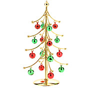 Árvore de Natal com Glitter bolas de neve Decoração de Natal
