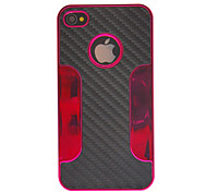 Special Design Weave Pattern Protective Case for iPhone 4/4S (Assorted Colors)