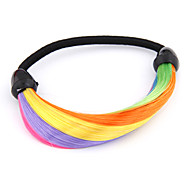 European Supermodel Runaway Ponytail Fluorecent Hair Tie