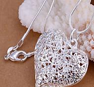 Pendentif de collier Forme de Coeur Cuivre Cœur Bijoux Pour Soirée Quotidien Décontracté