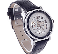 ORKINA KC023 Double-Sided Hollow Style Automatic Men's Wrist Watch -Black+Silver+White