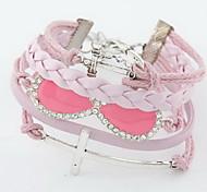 Bracelet Charme Alliage Strass Femme
