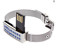 Linda pulseira de diamantes Flash Drive 32G