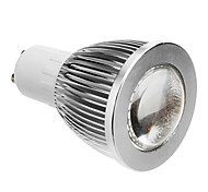 GU10 5 W COB 600 LM Warm White Spot Lights AC 85-265 V
