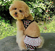 Lovely Coffee Dots Print Cute Bikini Swimming Suit for Pets Dogs (Assorted Sizes)