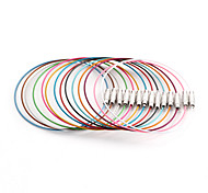 Classic Round Multicolor Stainless Steel Cord & Wire(10 Pcs/Lot)(Multicolor)