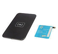Wireless Charger Pad & Receiver with AWG AC Adapter and Wireless Accept for Samsung Galaxy Note 3 (Black)
