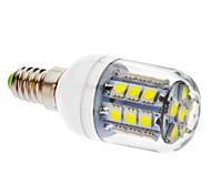 E14 3W 27 SMD 5050 405 LM Cool White T LED Corn Lights V
