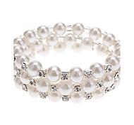 (1 Stk.) Klassische 6Cm Women'S 3 Ebenen Perlen-Armband