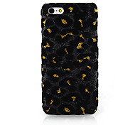 Leopard Print Cloth Art Back Case for iPhone 5C