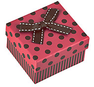 Sweet Red Paper Jewelry Box Voor Watch (Rood) (1 Pc)