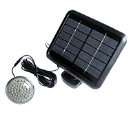 60-LED Indoor Luz Solar Sistema Solar LED Lâmpada