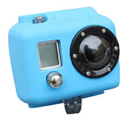 Gopro Accessories Protective Case For Gopro Hero 2 Silicone Blue