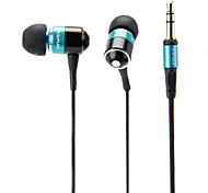 In-Ear Stereo Super Bass fones de ouvido para Iphone, Ipad, Ipod