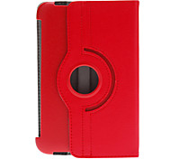 "Folio PU Case Cover in pelle con supporto per Samsung Galaxy Tab2 7.0 7 ""Tablet P3100"