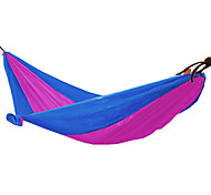 Nylon Fabric Hammock for Outdoor Camping(Random Color)