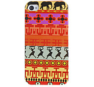 Primitive Dancers Pattern Hard Case for iPhone 4/4S