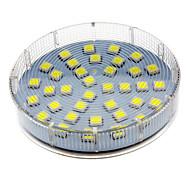 5W GX53 Focos LED 36 SMD 5050 280-350 lm Blanco Fresco AC 100-240 V