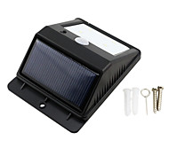 4-LED Solar Powered PIR Sensor Outdoor Light