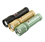 LT-W007 4-Mode Cree XM-L T6 LED Zoom Flashlight (1000LM, 3xAAA, Black/Green/Gold)