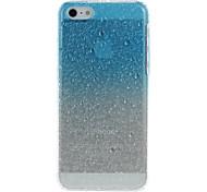 3D Water Drops Patrón dura protectora del caso para el iPhone 5C (colores surtidos)