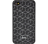 DEVIA White Net Pattern Matte PC Hard Case for iPhone 4/4S (Optional Colors)
