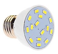 6W E26/E27 LED Spotlight 15 SMD 5630 480 lm Cool White AC 220-240 V