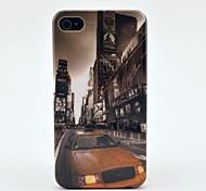 Автомобилей по образцу Улица здания Жесткий чехол для iPhone 4/4S