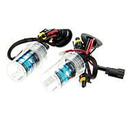 2Pcs Car H7 HID Xenon Lights Bulbs Lamps AC/DC 12V55W(4300-12000K Optional)