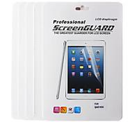 Protector de pantalla LCD para el mini iPad 3 Mini iPad 2 ipad Mini w / paño de limpieza (5 piezas)