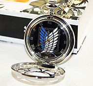 Attack on Titan Cosplay Pocket Watch