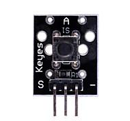 nuevo (para arduino) tecla del módulo del sensor del interruptor - negro