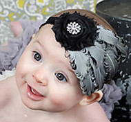 Elegante Flor Hairband da menina