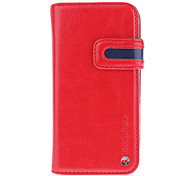 2-in-one Designed with Card Slot and Removable Back Cover Full Body Case for iPhone 5/5S (Assorted Colors)