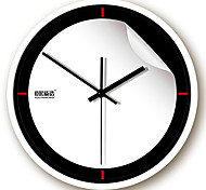"12""H Modern Type Simple Metal Wall Clock"