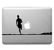 Running Man Pattern Transparent PC Hard Case for MacBook Air (Assorted Colors)