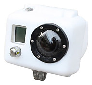 Silicone Case for Gopro HD Hero2 (White)