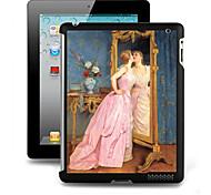 Modello speciale effetto 3D Hard Case Back Cover per iPad 2/3/4
