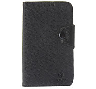 MLT Faux Leather Flip Open Soft Back Cover Pouches with Button Buckle for Samsung Galaxy Note3 N9005