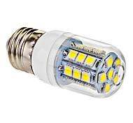 Corn Bulbs , E26/E27 W 27 SMD 5050 170-210 LM Cool White V